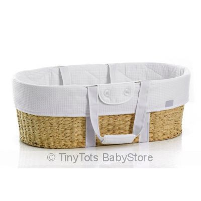 Mosses Basket. Available in store Visit http://www.tinytotsbabystore.com.au/E21245::273743:Born-With-Style-Mosess-Basket-With-Stand-