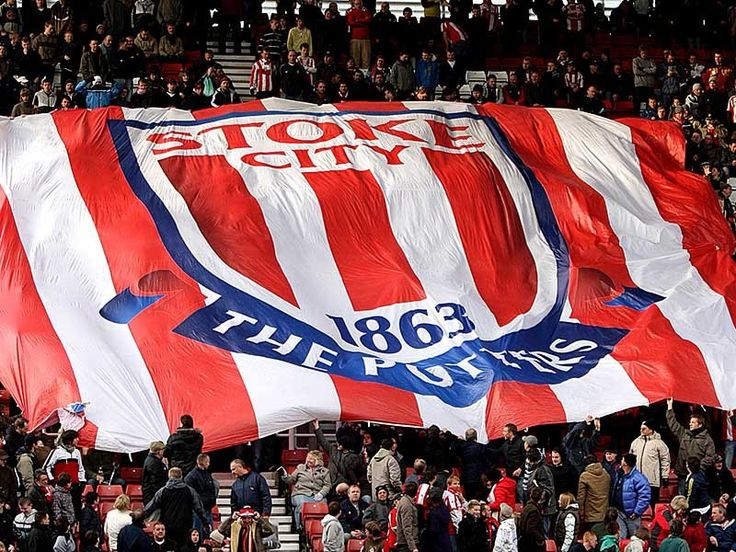 @Stoke the potters flag #9ine
