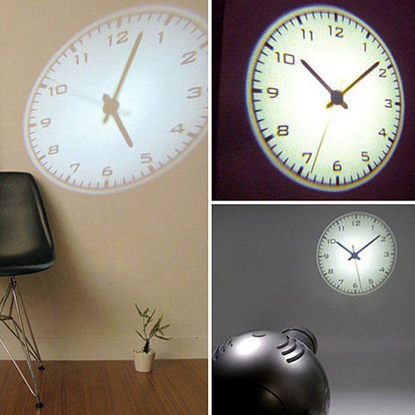 4th gen led romantic projector wall clock cold light on wall clocks id=82585