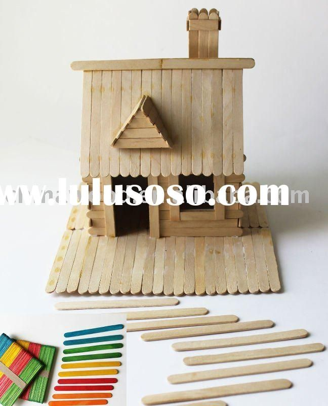 pinterest crafts popsicle sticks birdhouses | Aplicación optimizada para Internet Explorer 5.5 o superior con una ...