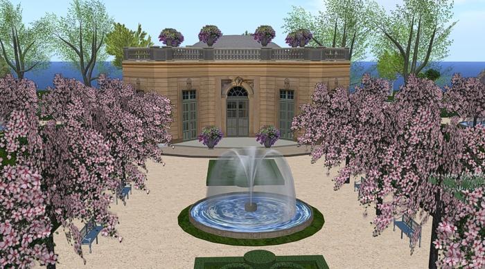 Petit Trianon: The French Pavilion SL | Tatiana Dokuchic #secondlife