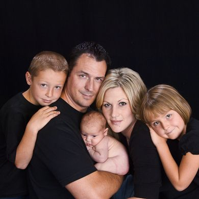 Family of 5 with a baby