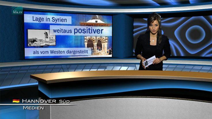 Lage in Syrien weitaus positiver als vom Westen ... | 09.01.2017 | www.k...