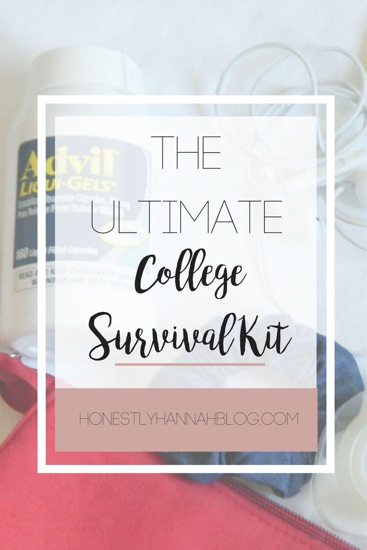 The Ultimate College Survival Kit #AdvilRelief #Ad @advil @target