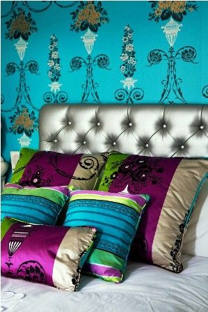 living room color with jewel tones | Jewel Toned Colors In Style Room Bedroom | Latest House Design