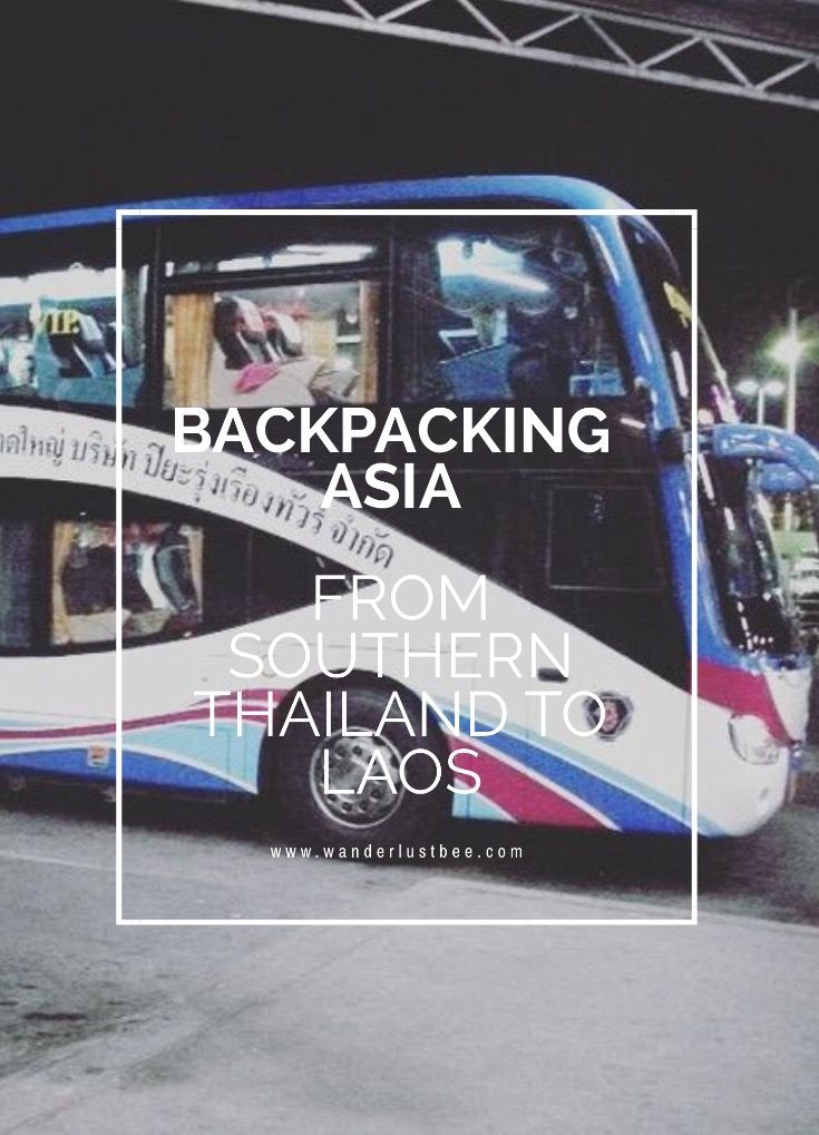 Backpacking Asia. Traveling from southern Thailand to Laos by bus. Visas running out it was the perfect Time to take the scenic route through Laos and Vientiane. Our 23 hour journey from Koh Tao to Vang Vieng. Click to read more...