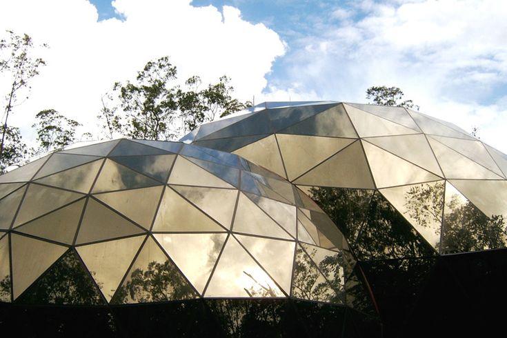 28 best c pulas geod sicas images on pinterest geodesic - Casas de madera y mas com ...