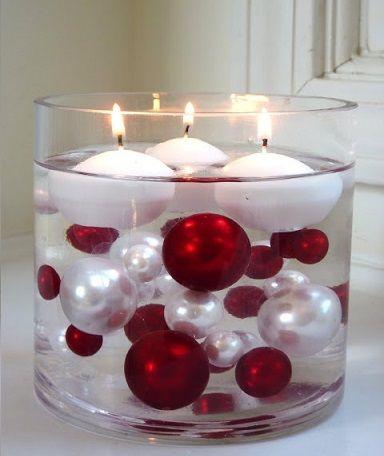 centros de mesa fciles decorar navidad