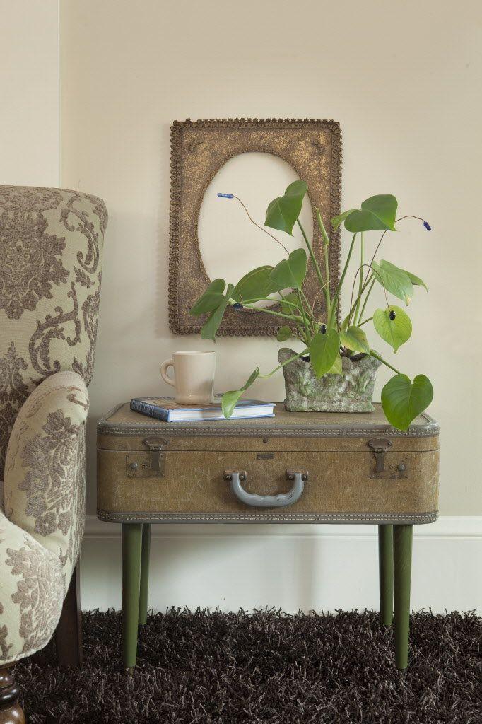 Upcycled Home Décor: Vintage Koffer neu beleben