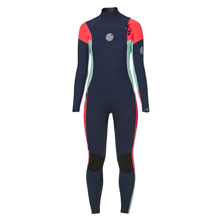 Rip Curl Womens Dawn Patrol 5/3mm 2017 Chest Zip Wetsuit - Navy