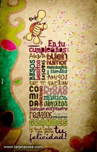 Deseos de cumpleaños. ..