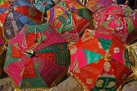 Rajasthani Umbrellas