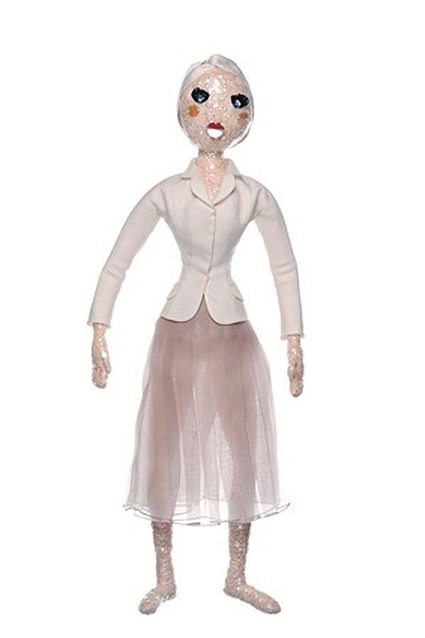 Christian Dior doll for UNICEF's Frimousses Designers for Darfur. #dior