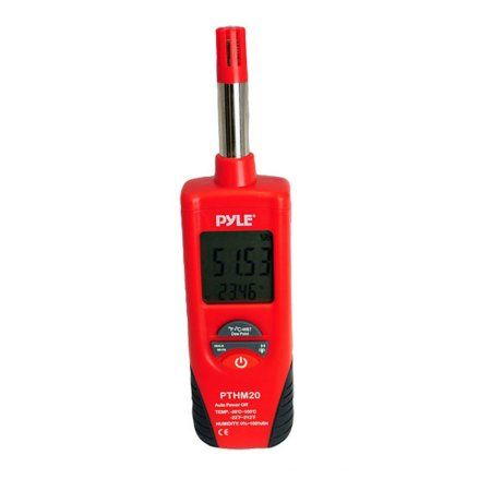 Pyle - PTHM20 - Temperature and Humidity Meter With Dew Point and Wet Bulb Temperature