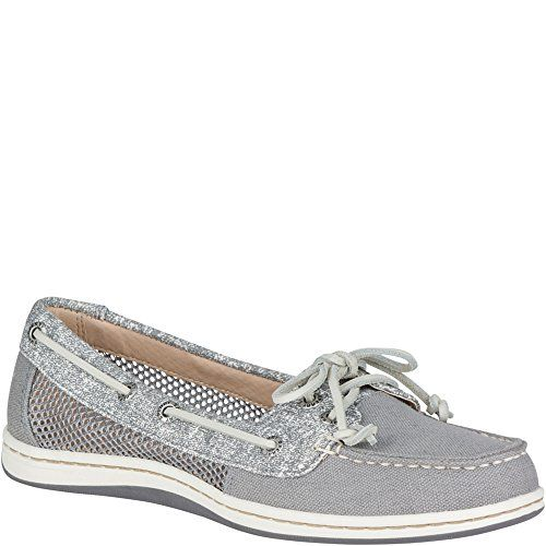 Firefish Canvas Boat Shoe  Keep your ensemble timeless with the feminine allure of the Sperry® Firefish Sand Print boat shoe.