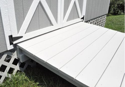How to Build a Shed Ramp via @JocieOPC