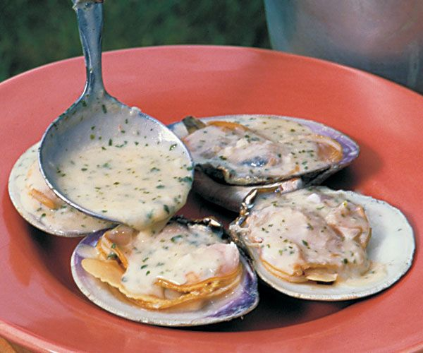 Clams and Mussels in butter sauce recipes | Garlic-Butter Sauce for Oysters, Clams & Mussels Recipe
