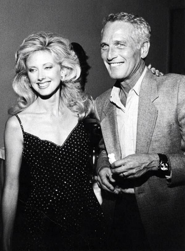 Morgan Fairchild & Paul Newman