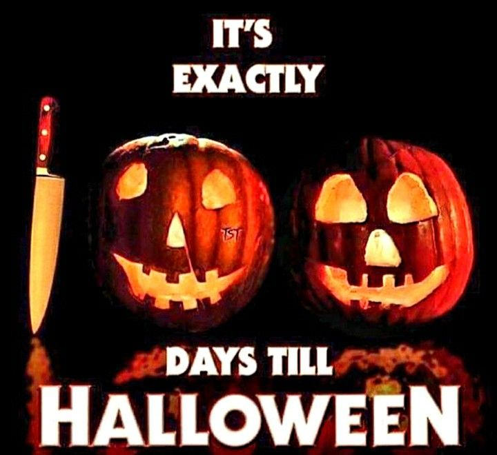How Many Days Till Halloween 2020 July 23 2020 100 days from July 23!!! | Days until halloween, Days till