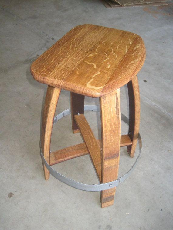 used wine barrel furniture. barrel stave barstool used wine furniture