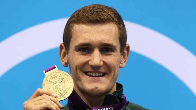 Medal No. 1 - Well done Cameron