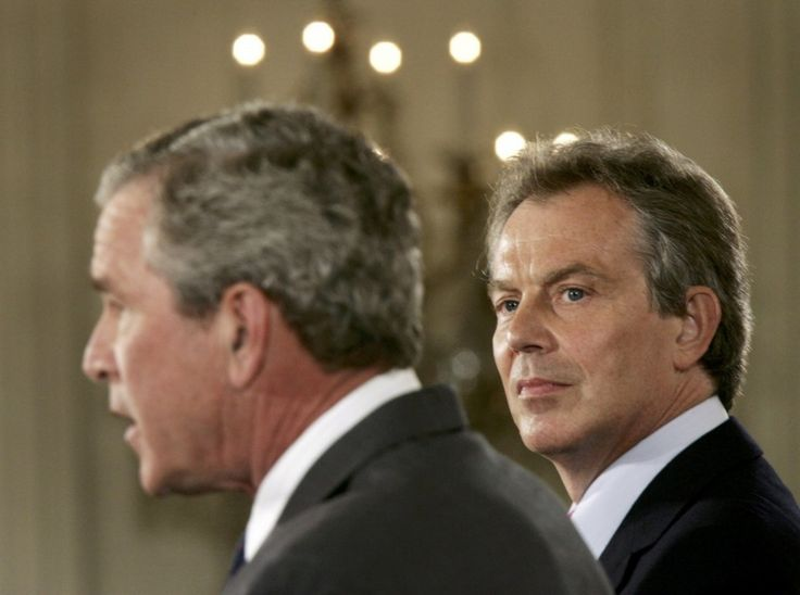 'I will be with you, whatever': Read Blair's secret 2002 memo to Bush on Iraq - The Washington Post