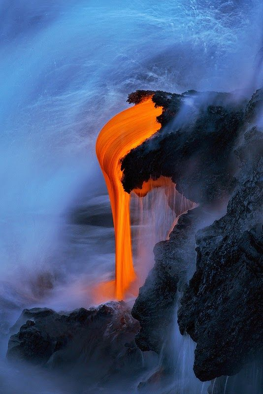 Hot Lava Syrup... Lava pits to forge q carbon weapons