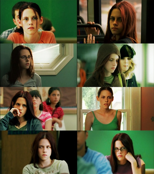 "Kristen Stewart portrays the character of Melinda Sordino in the movie adaptation Laurie Halse Anderson's book ""Speak""......"
