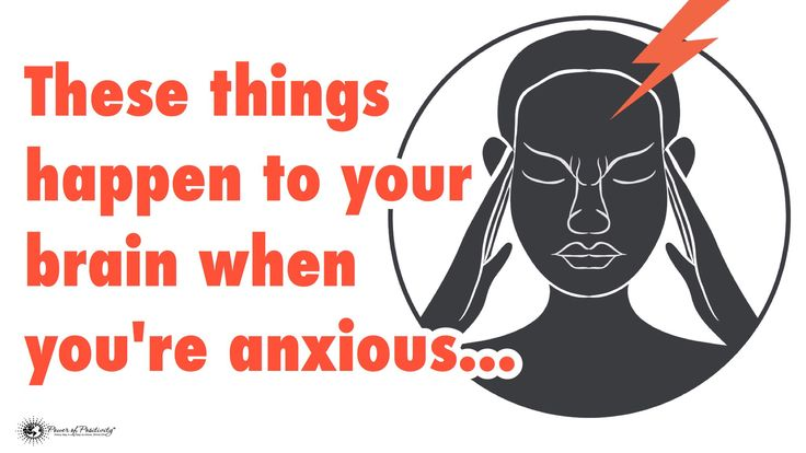 Anxiety seems to be a part of life today, with millions of people suffering from it. These things happen to your brain when you're anxious...