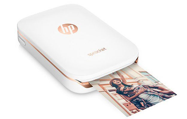 HP Sprocket Printer Slips In Your Pocket, Wirelessly Prints 2x3-inch Photos From…