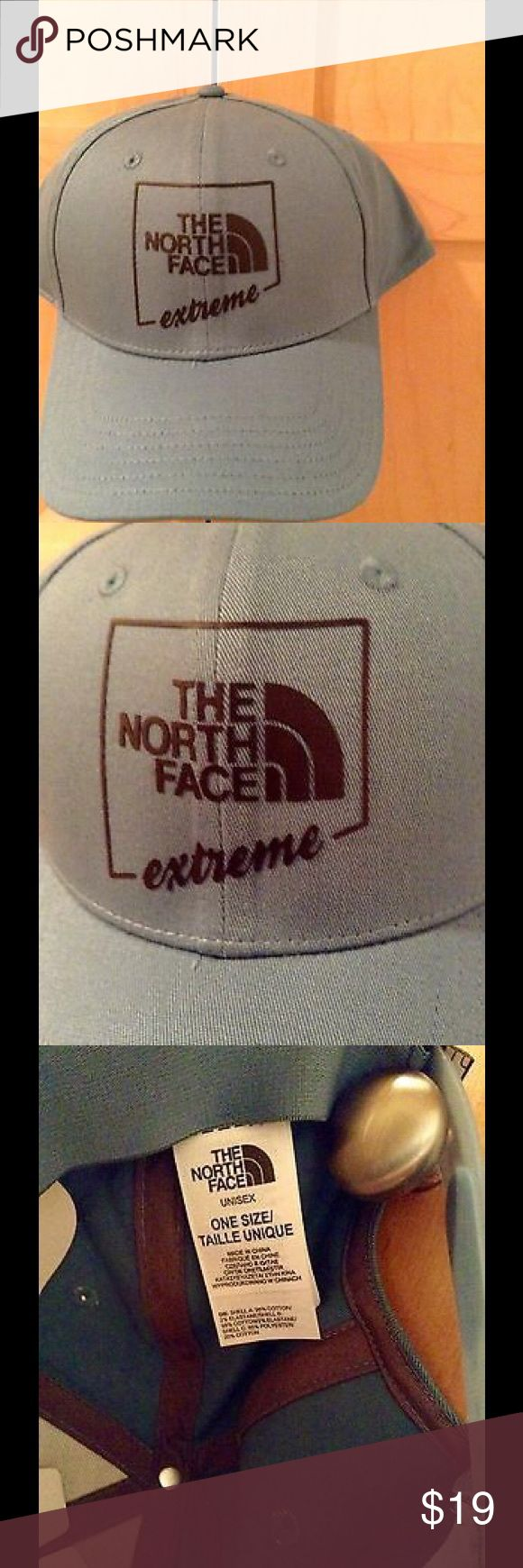 NEW The North Face Sports Cap Brand new with tag, classic sport cap in storm blue color. No trade.  Price is firm. North Face Accessories Hats