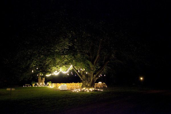 a stunning candle lit ceremony sight  Photography by melbarlowandco.com, Wedding Planning by laurawrightevents.com