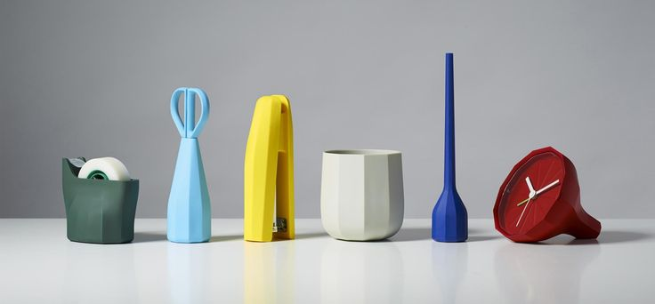 An aesthetic, tactile set of objects that work as well in the office as in the home.