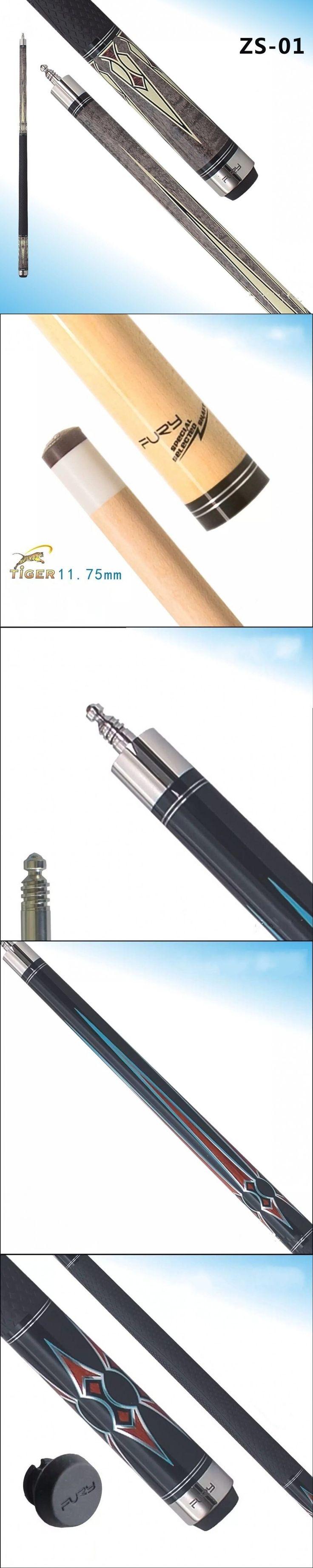 Fury Pool Cue Model ZS-01 Speed-Loc joint pin 11.75mmTip pool billiards cue tacos de billar Silicone sport grip