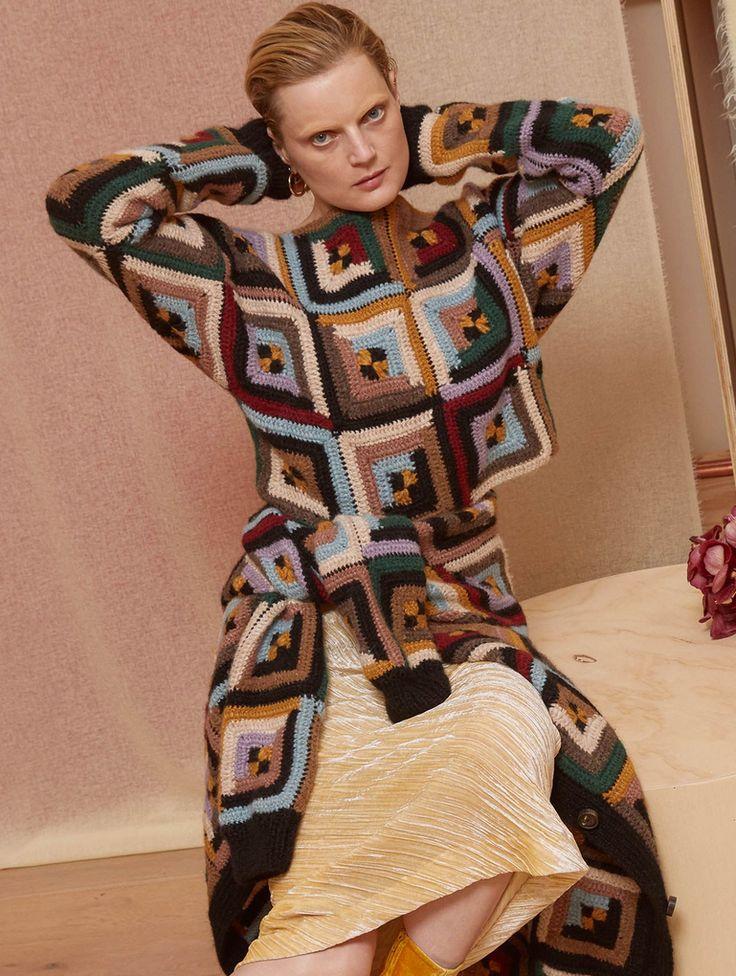 Crochet- Rosetta Getty Fall 2018