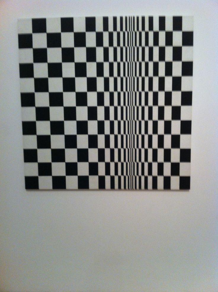 Bridget Riley Movement in squares, 1961 Nottingham Contemporary