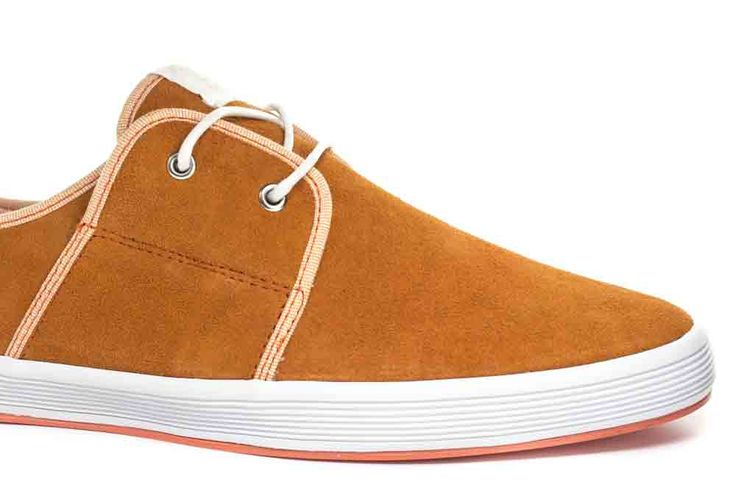 Buy now: http://www.baselondon.com/spam-2-suede-orange Men's Fashion. Fish 'n' Chips Shoes. Spring Summer 16. Men's Shoes. Menswear. Seasonal Footwear. Style: Spam 2 Suede Orange