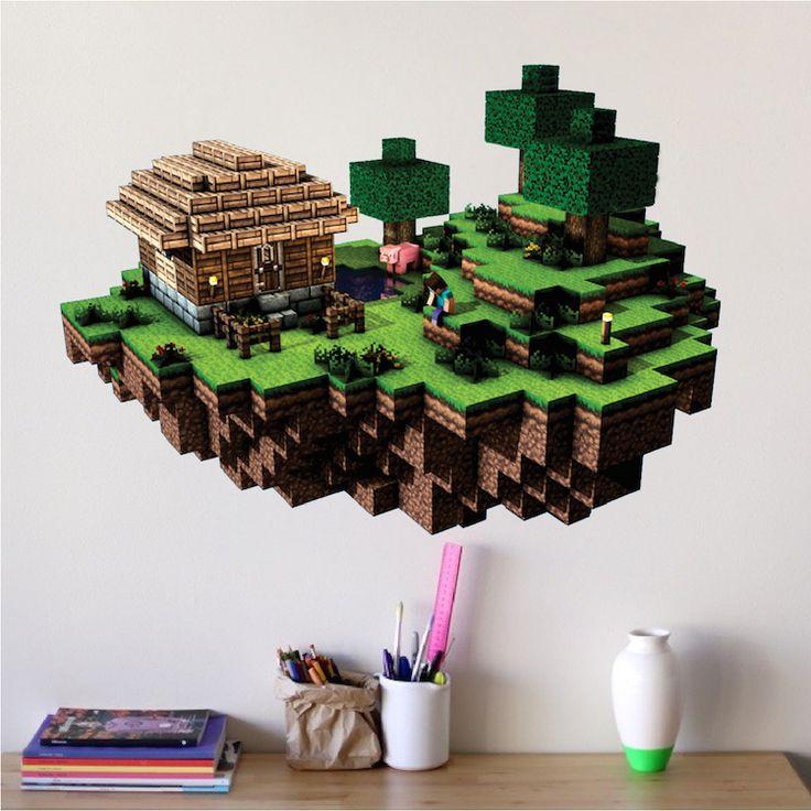 ... Minecraft Stickers For Walls Minecraft Wall Decal Minecraft Design  Decals ... Part 52