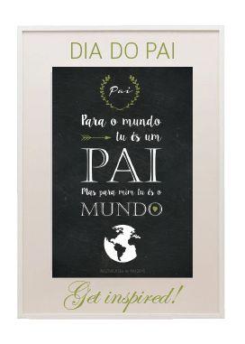 Dia do Pai com Amor // Free Printable 2015  |   In Love | Unique Weddings