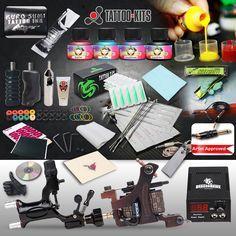 Rotary tattoo machine kit kuro sumi immortal inks-Tattoo-kits
