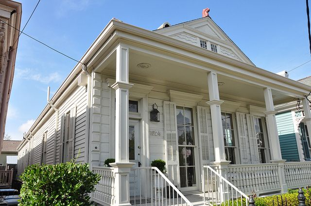 Shotgun house uptown new orleans louisiana shotgun for New orleans shotgun house plans
