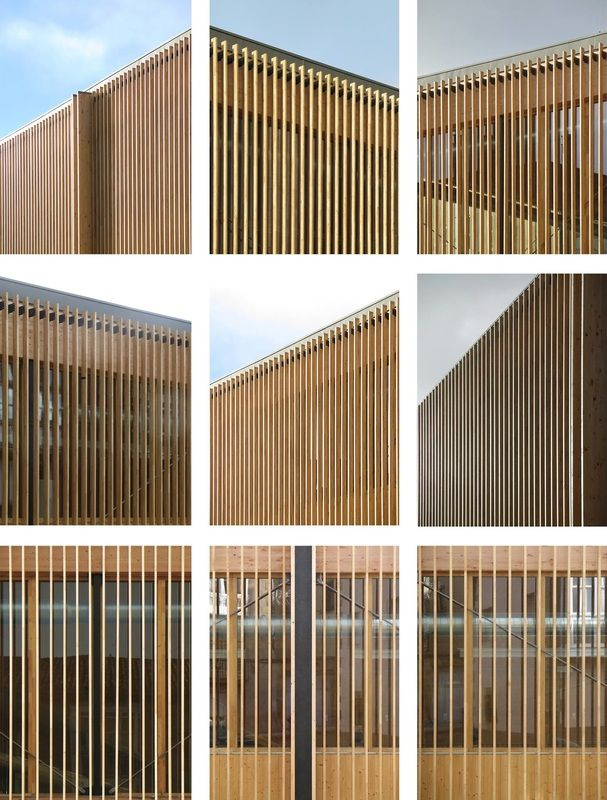 Architecture Interesting Exterior Home Design With: 17 Best Ideas About Wood Facade On Pinterest