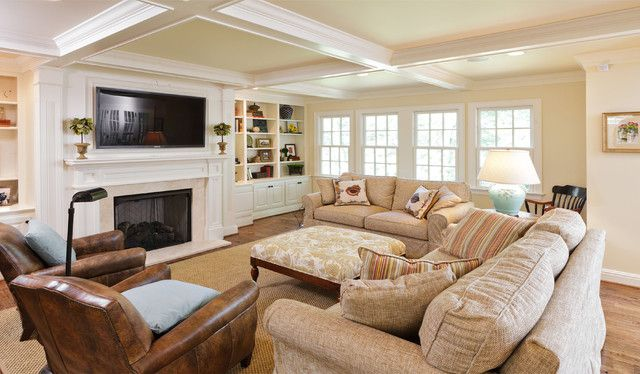 Small family room furniture arrangement some ideas and for Great room arrangements