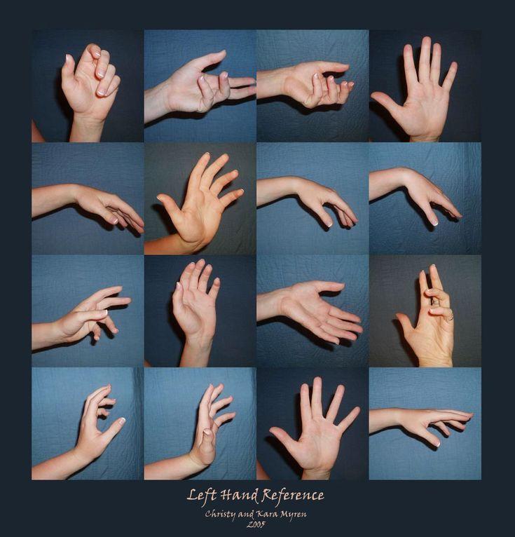 Left Hand - Reference by ~WindsweptSummer on deviantART