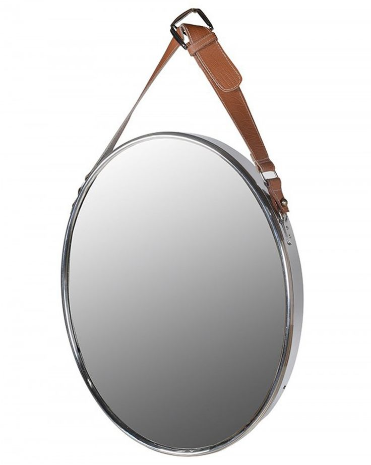 Carclew Hanging Oval Wall Mirror