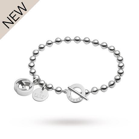 For Her - Gucci Boule Silver Bracelet - YBA390954001017