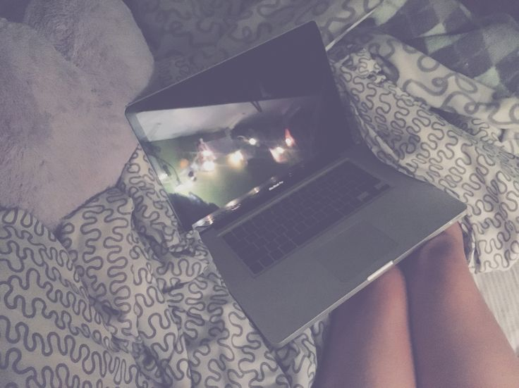 A comfy night of rest, Netflix and some fairy lights.