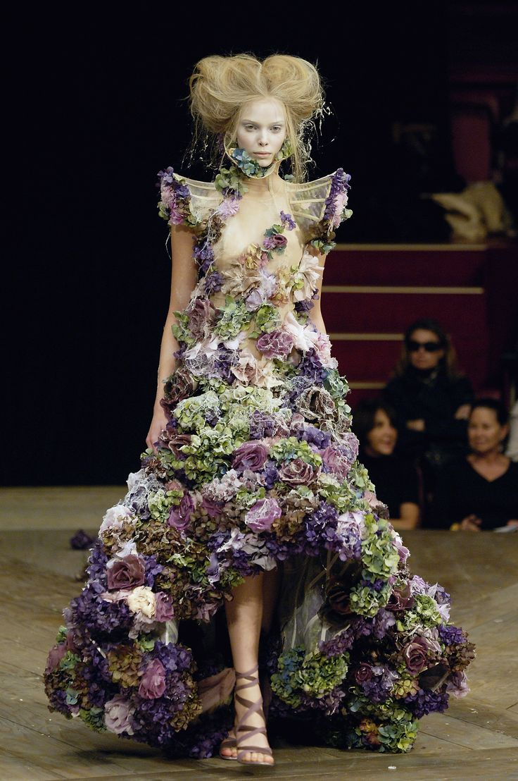 Alexander McQueen: Savage Beauty.These designs,like all great art, have enormous archetypal resonance