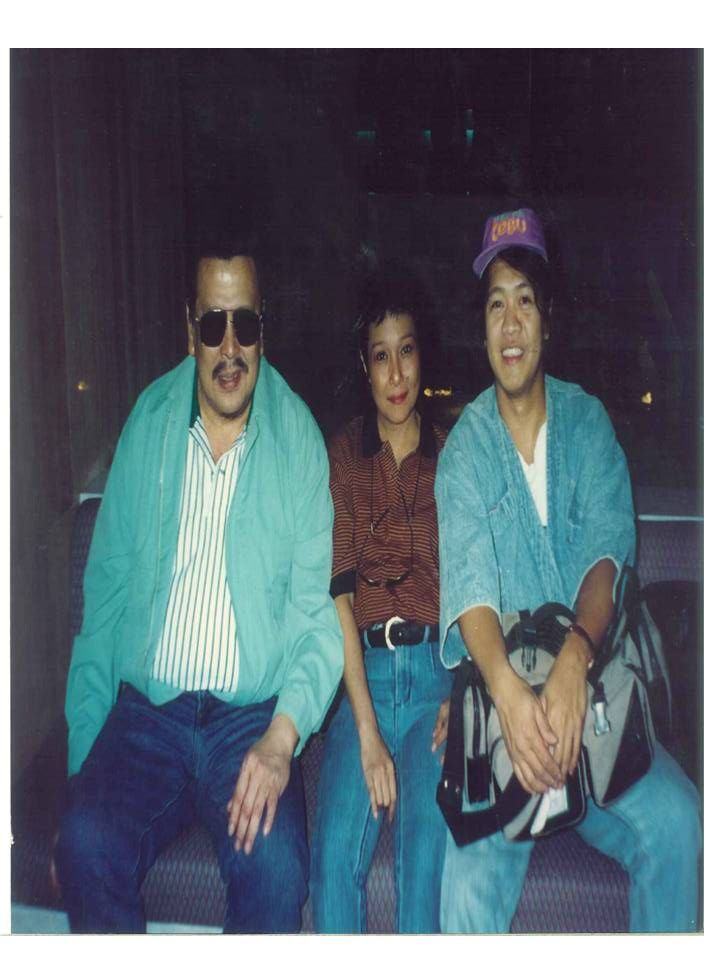 Albert with Nora Aunor & Joseph Estrada