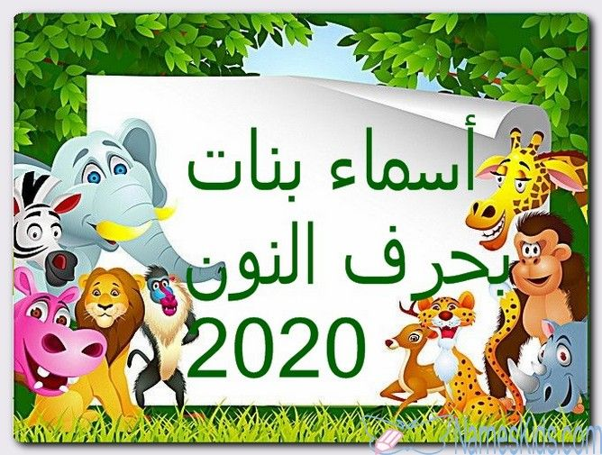 أسماء بنات بحرف النون حديثة 2020 ومعانيها اسماء بالحروف اسماء بحرف النون اسماء بنات